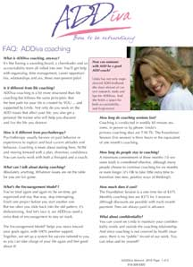 faq coaching addiva